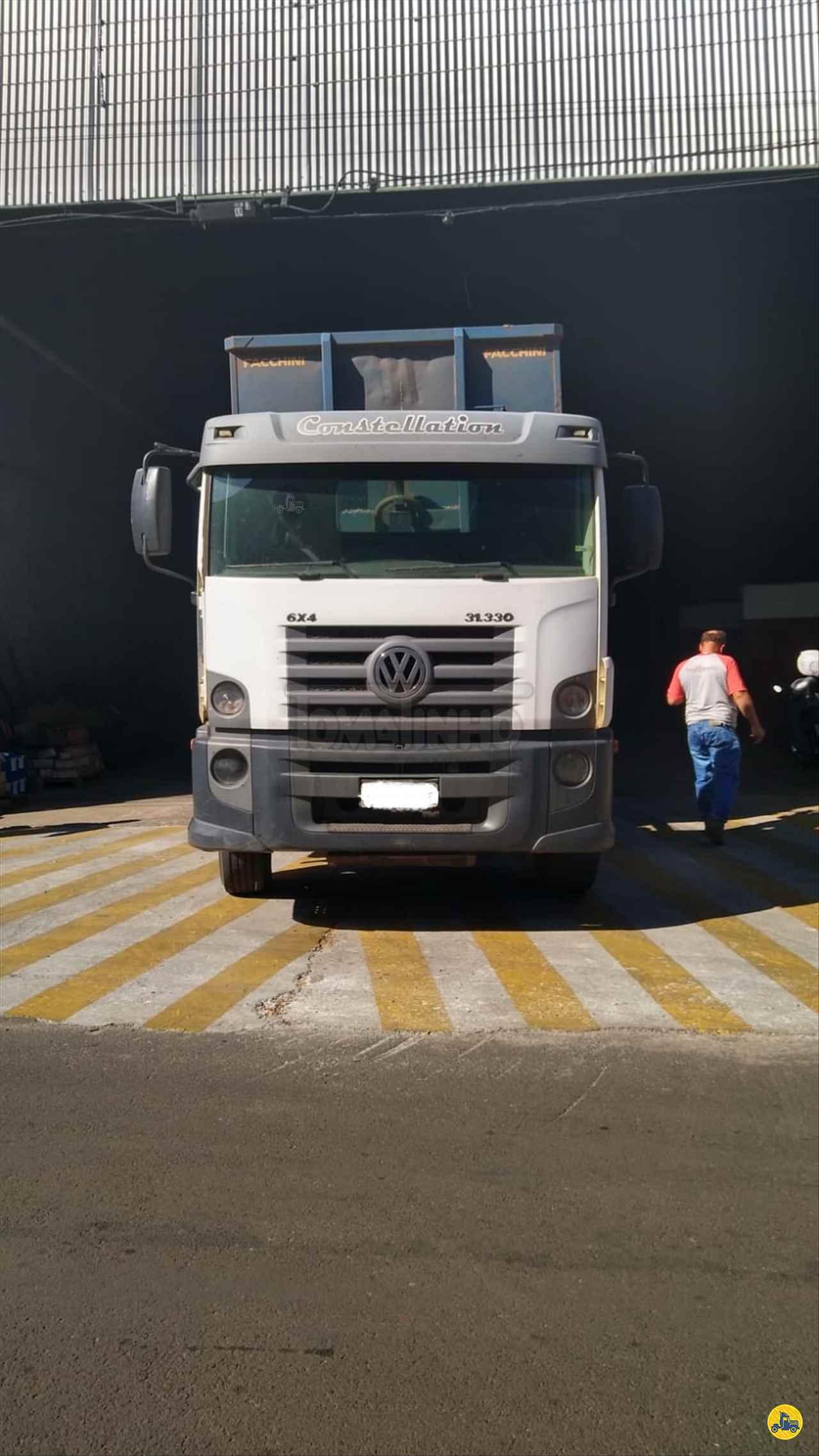 CAMINHAO VOLKSWAGEN VW 31330 Caçamba Basculante Traçado 6x4 Tomatinho Caminhões BAURU SÃO PAULO SP