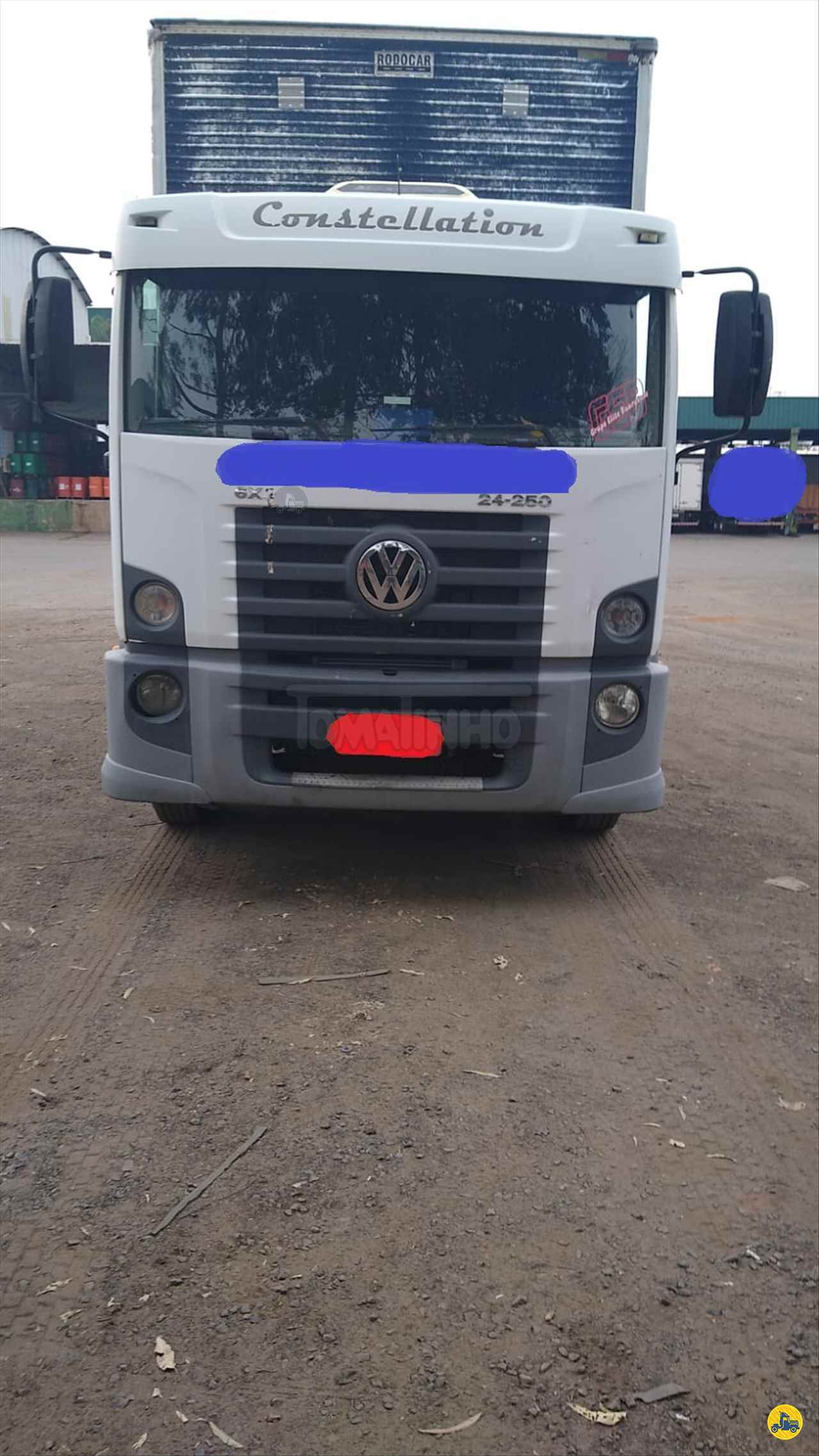 CAMINHAO VOLKSWAGEN VW 24250 Baú Furgão Truck 6x2 Tomatinho Caminhões BAURU SÃO PAULO SP