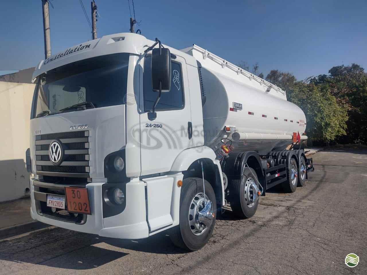 CAMINHAO VOLKSWAGEN VW 24250 Tanque Aço Truck 6x2 MS Máquinas Agrícolas DOURADOS MATO GROSSO DO SUL MS
