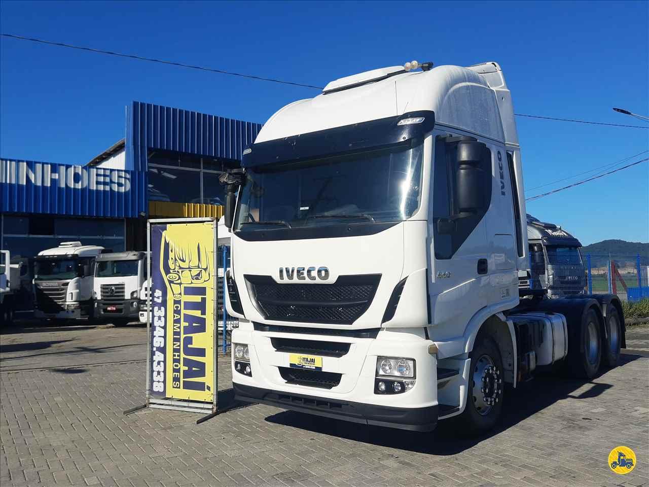 CAMINHAO IVECO STRALIS 440 Cavalo Mecânico Truck 6x2 Itajai Caminhões NAVEGANTES SANTA CATARINA SC