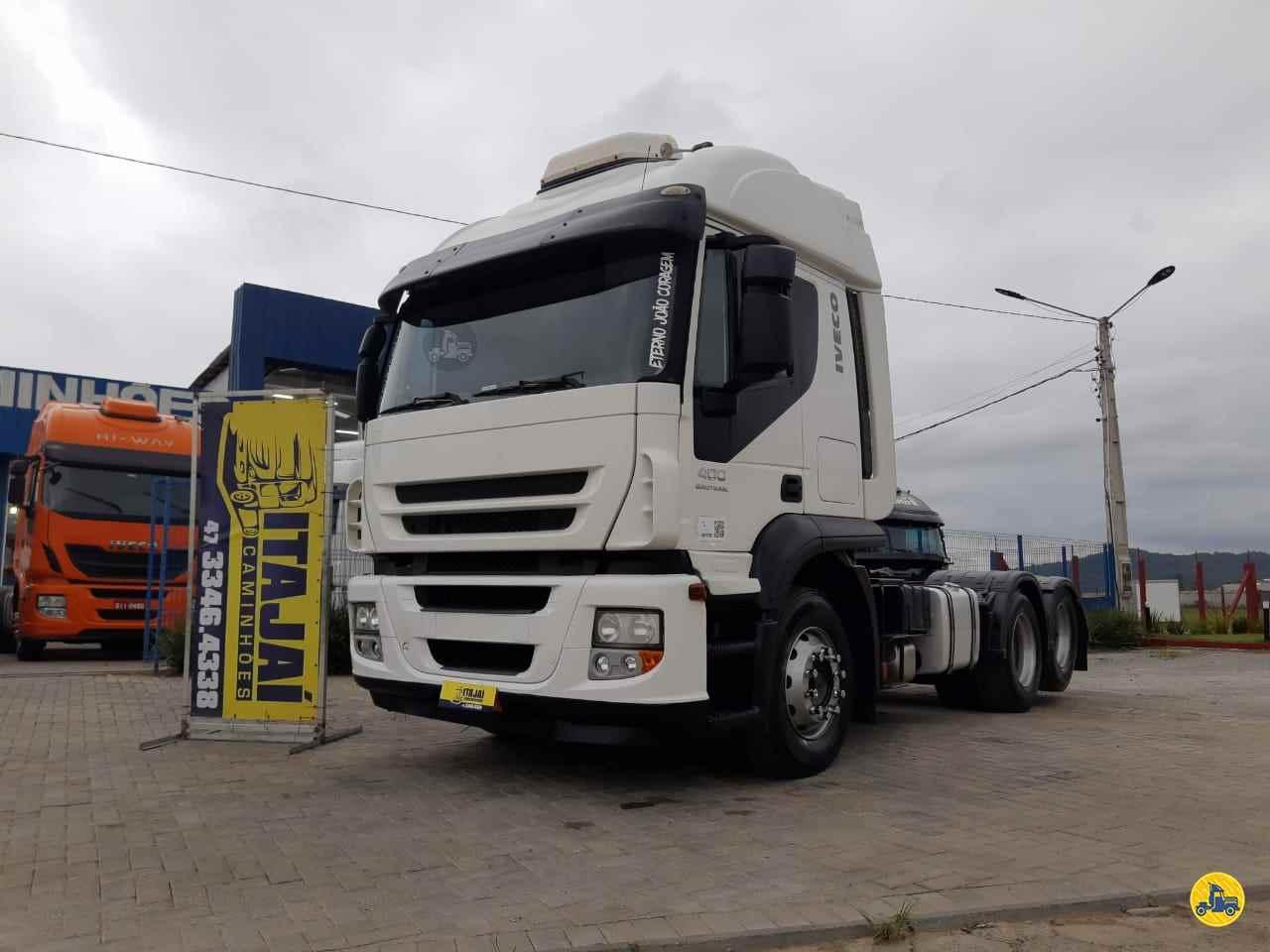 CAMINHAO IVECO STRALIS 400 Cavalo Mecânico Truck 6x2 Itajai Caminhões NAVEGANTES SANTA CATARINA SC