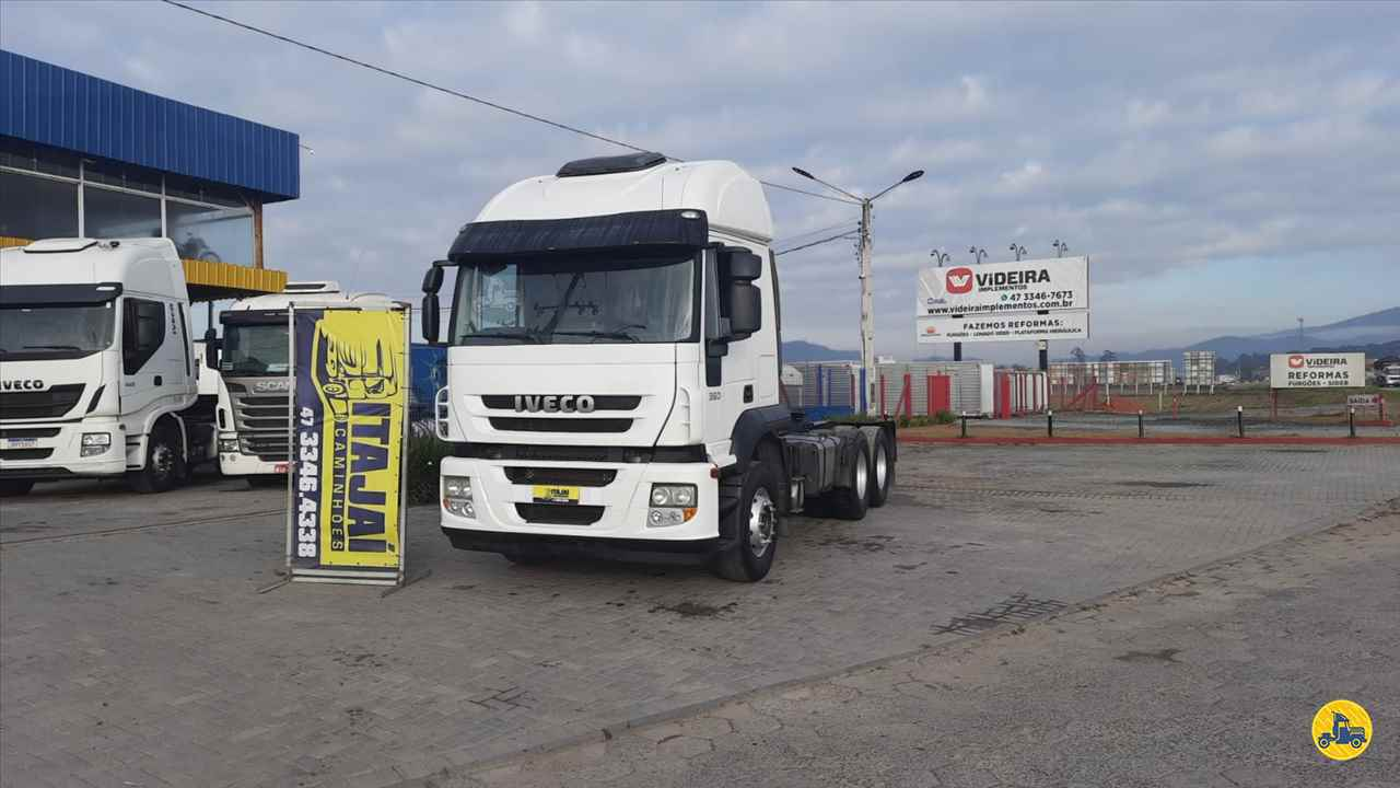 CAMINHAO IVECO STRALIS 360 Cavalo Mecânico Truck 6x2 Itajai Caminhões NAVEGANTES SANTA CATARINA SC