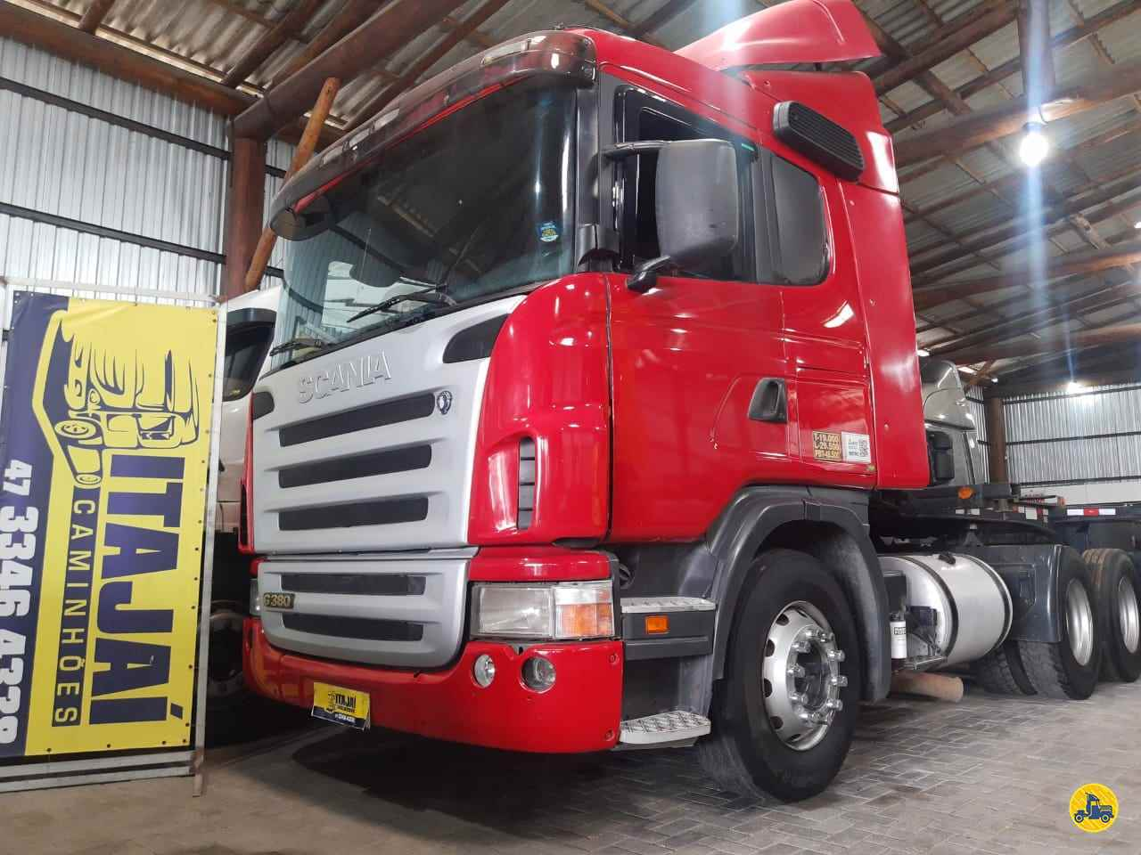 CAMINHAO SCANIA SCANIA 380 Cavalo Mecânico Truck 6x2 Itajai Caminhões NAVEGANTES SANTA CATARINA SC