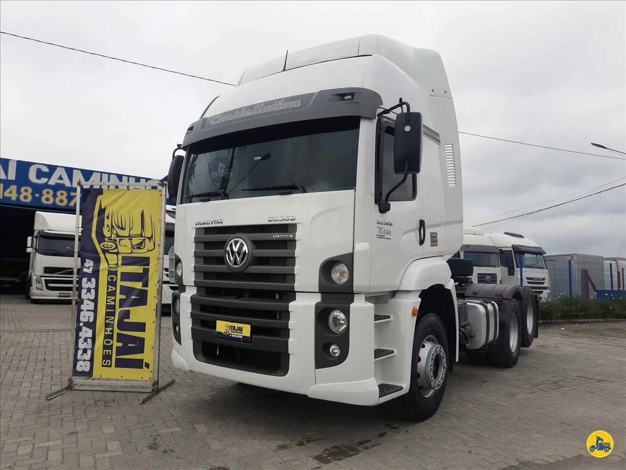 CAMINHAO VOLKSWAGEN VW 25360 Cavalo Mecânico Truck 6x2 Itajai Caminhões NAVEGANTES SANTA CATARINA SC
