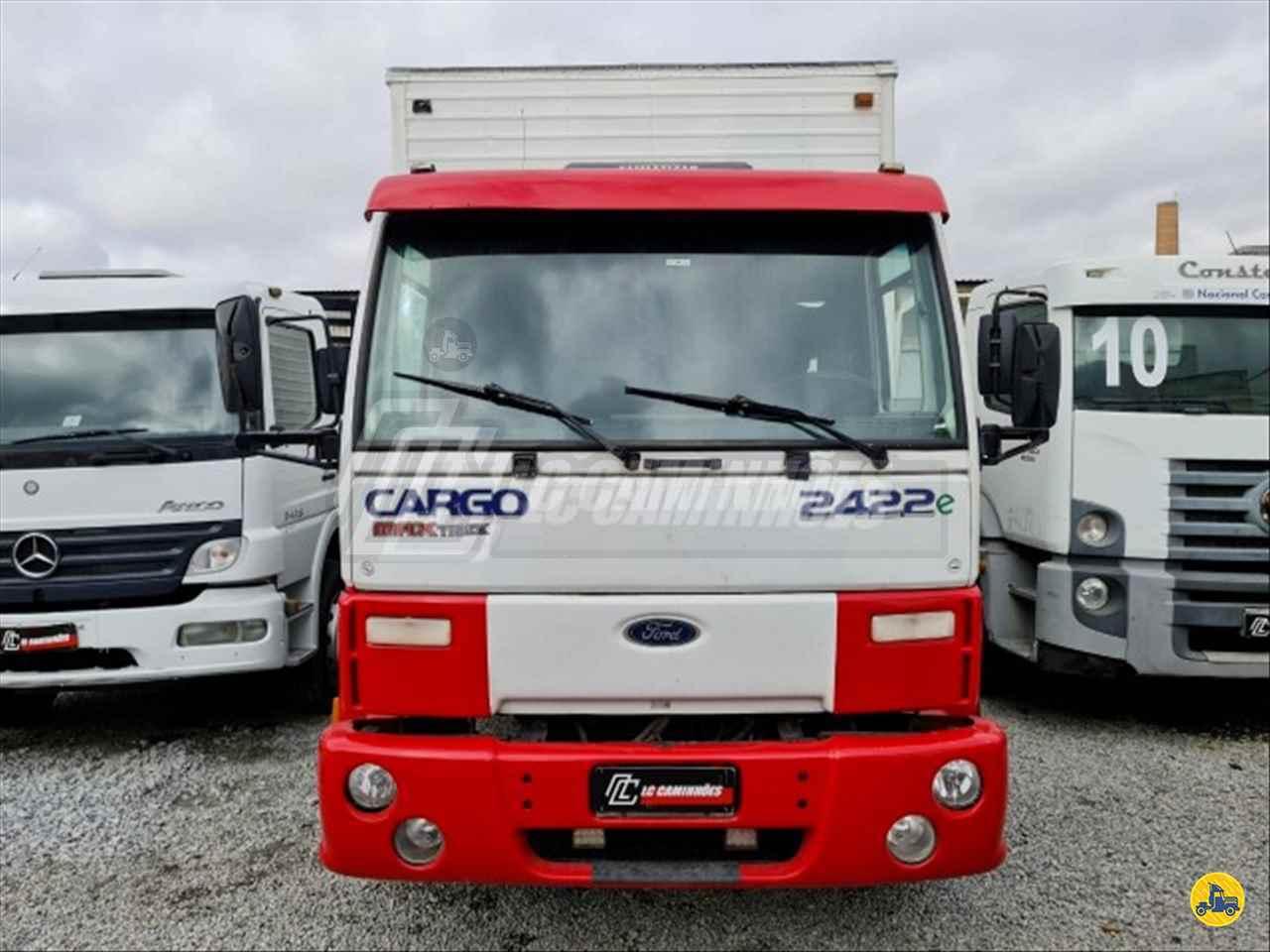 CAMINHAO FORD CARGO 2422 Baú Furgão Truck 6x2 LC Caminhões SAO PAULO SÃO PAULO SP