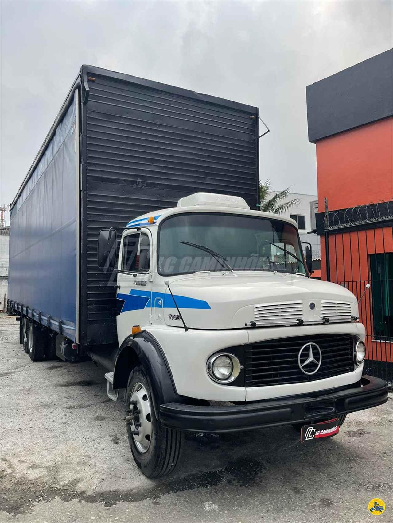 CAMINHAO MERCEDES-BENZ MB 1113 Baú Furgão Truck 6x2 LC Caminhões SAO PAULO SÃO PAULO SP