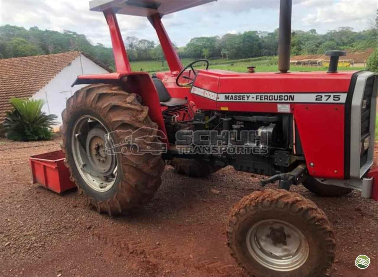 TRATOR MASSEY FERGUSON MF 275 Tração 4x2 Schuh Transportes e Vendas Agrícolas MARECHAL CANDIDO RONDON PARANÁ PR