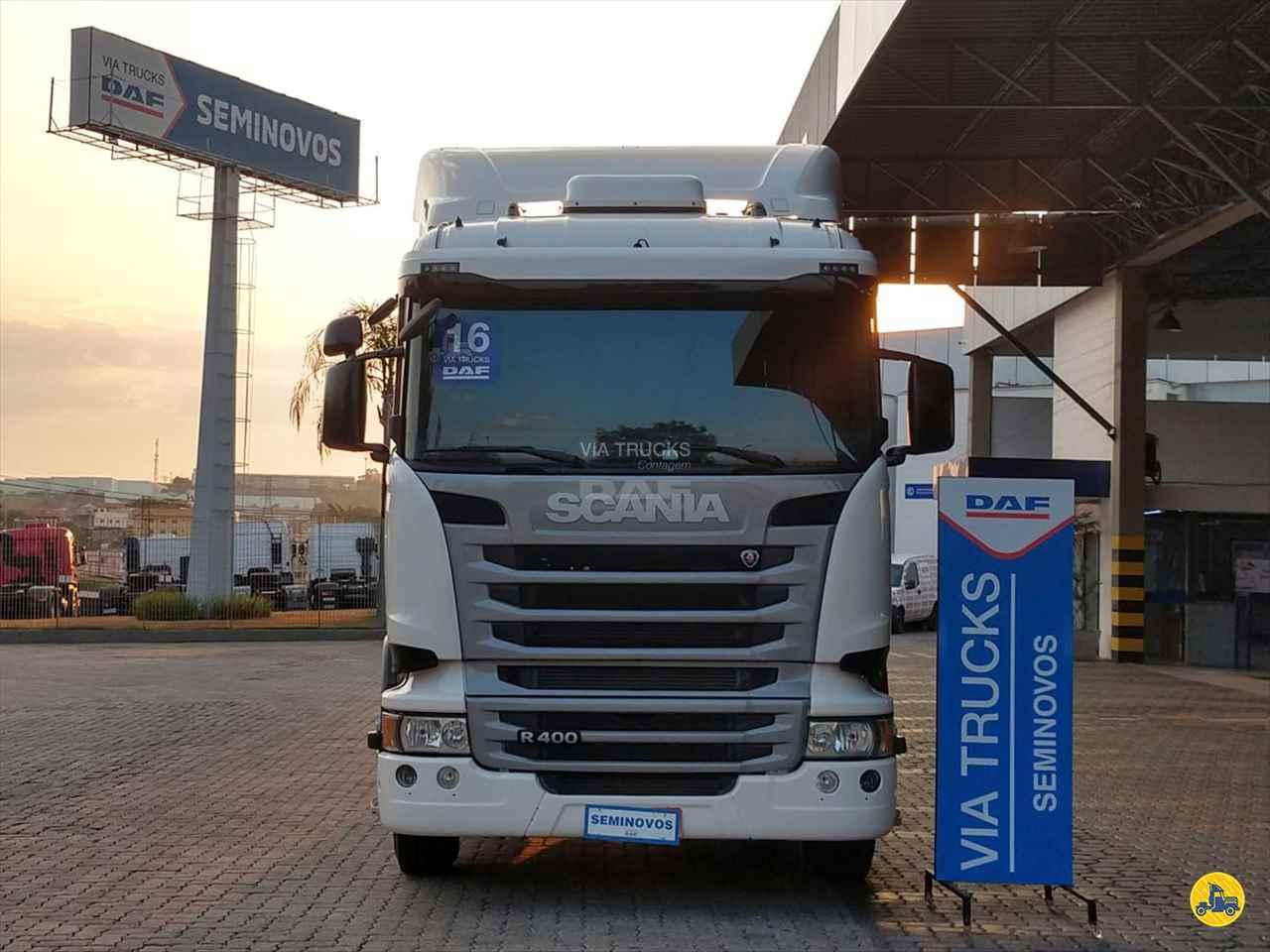 CAMINHAO SCANIA SCANIA 400 Chassis Toco 4x2 Via Trucks - DAF CONTAGEM MINAS GERAIS MG