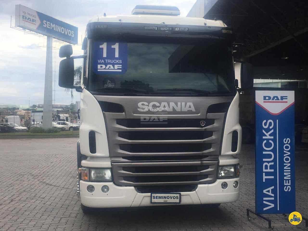 CAMINHAO SCANIA SCANIA 420 Chassis Traçado 6x4 Via Trucks - DAF CONTAGEM MINAS GERAIS MG