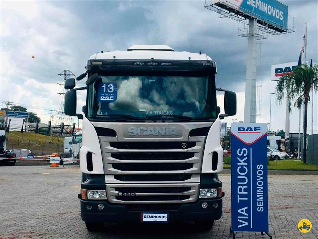 CAMINHAO SCANIA SCANIA 440 Chassis Truck 6x2 Via Trucks - DAF CONTAGEM MINAS GERAIS MG