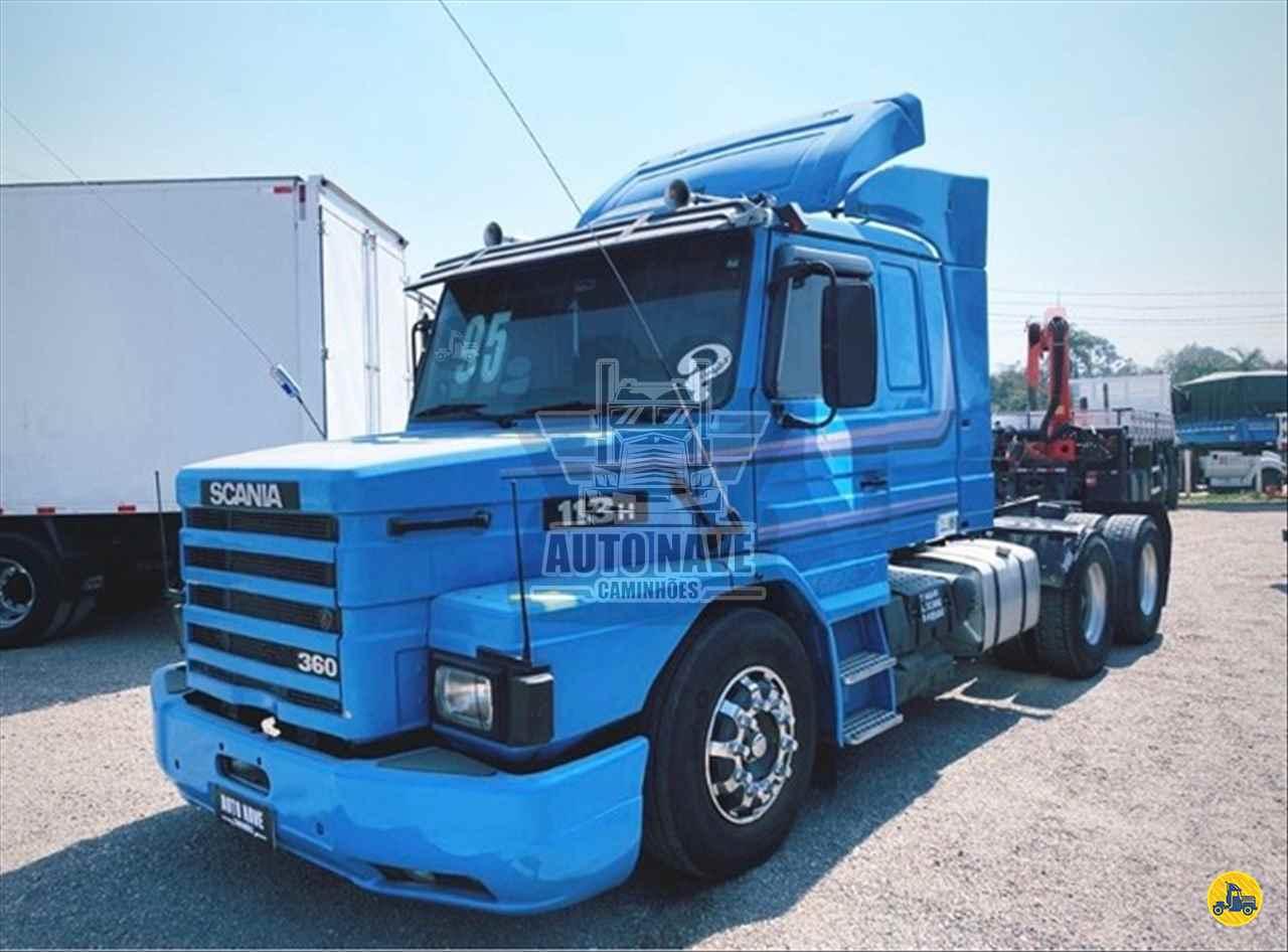 CAMINHAO SCANIA SCANIA 113 360 Cavalo Mecânico Truck 6x2 Auto Nave Caminhões FAZENDA RIO GRANDE PARANÁ PR