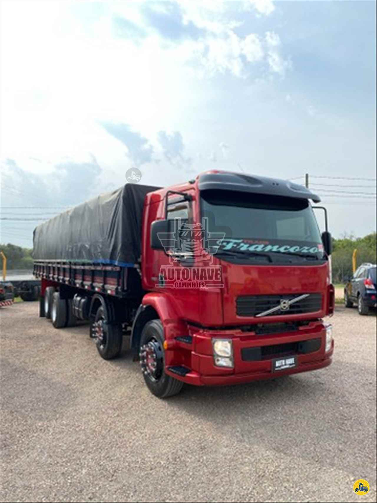 CAMINHAO VOLVO VOLVO VM 260 Graneleiro BiTruck 8x2 Auto Nave Caminhões FAZENDA RIO GRANDE PARANÁ PR