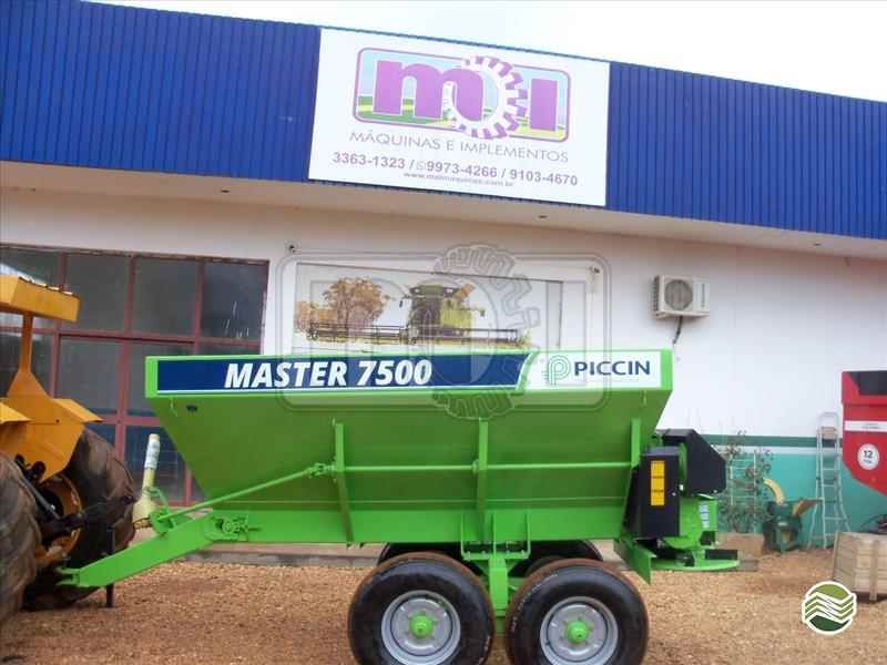 IMPLEMENTOS AGRICOLAS DISTRIBUIDOR CALCÁRIO 7500 Kg Moi Maquinas e Implementos Agricolas PORTO NACIONAL TOCANTINS TO