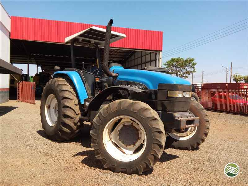 NEW HOLLAND NEW TM 140  2001/2001 Gomagril Máquinas Agrícolas