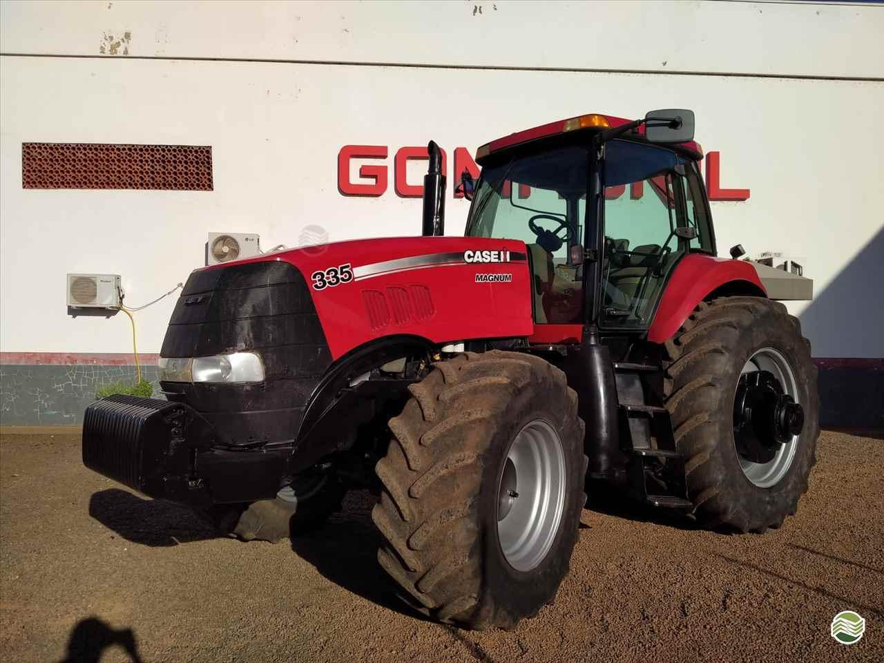 TRATOR CASE MAGNUM 335 Tração 4x4 Gomagril Máquinas Agrícolas TANGARA DA SERRA MATO GROSSO MT