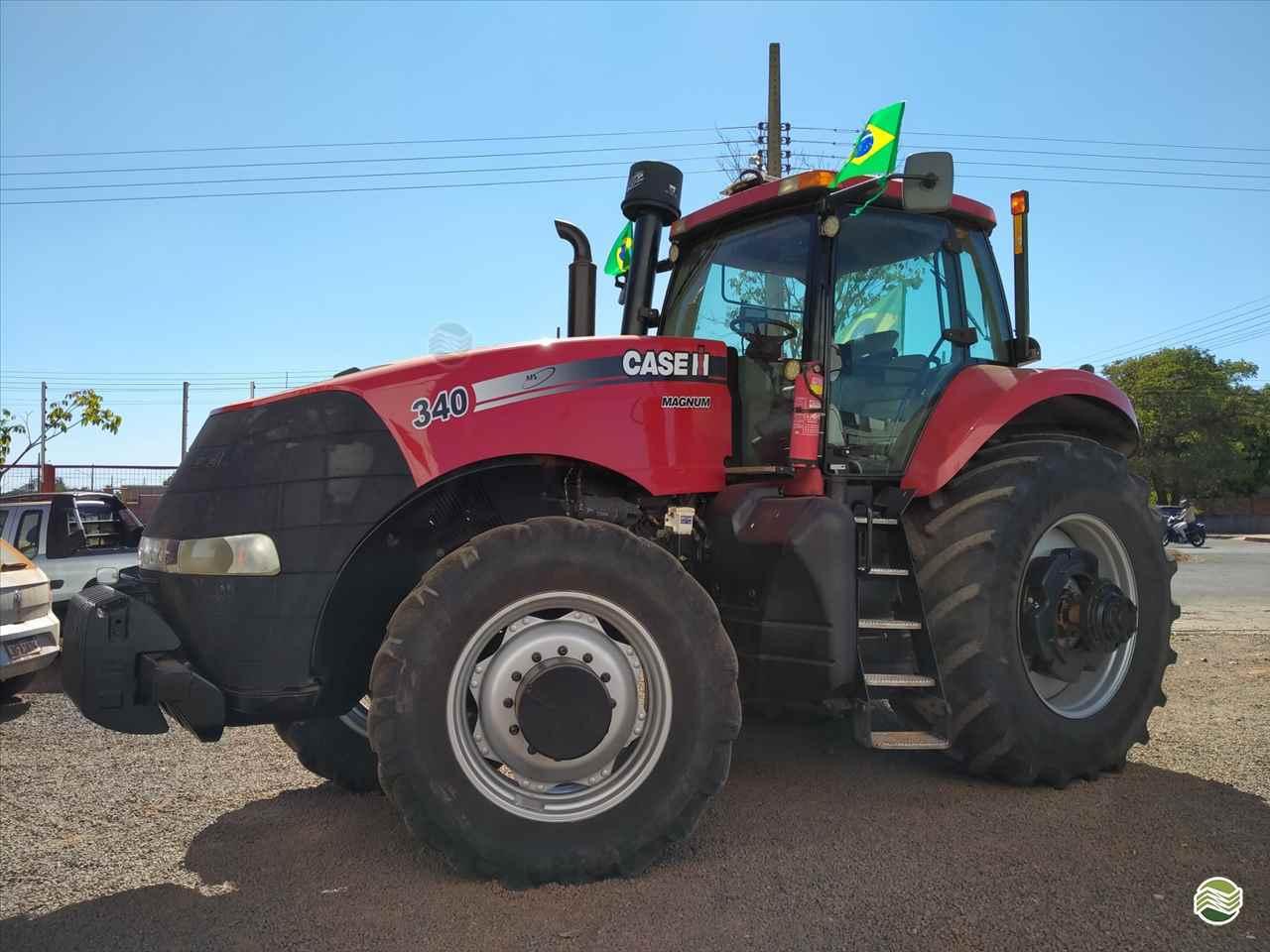 TRATOR CASE MAGNUM 340 Tração 4x4 Gomagril Máquinas Agrícolas TANGARA DA SERRA MATO GROSSO MT