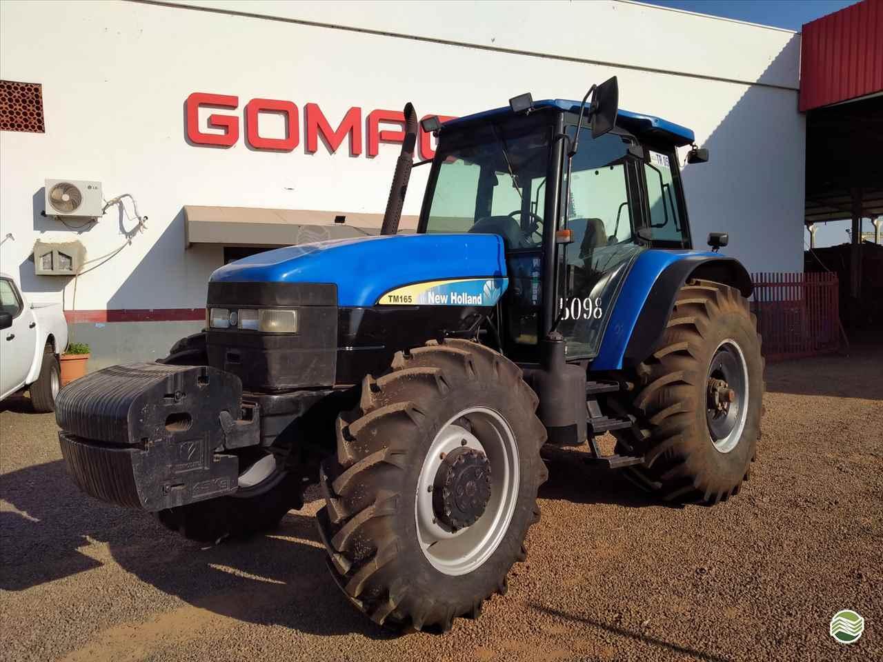 TRATOR NEW HOLLAND NEW TM 165 Tração 4x4 Gomagril Máquinas Agrícolas TANGARA DA SERRA MATO GROSSO MT