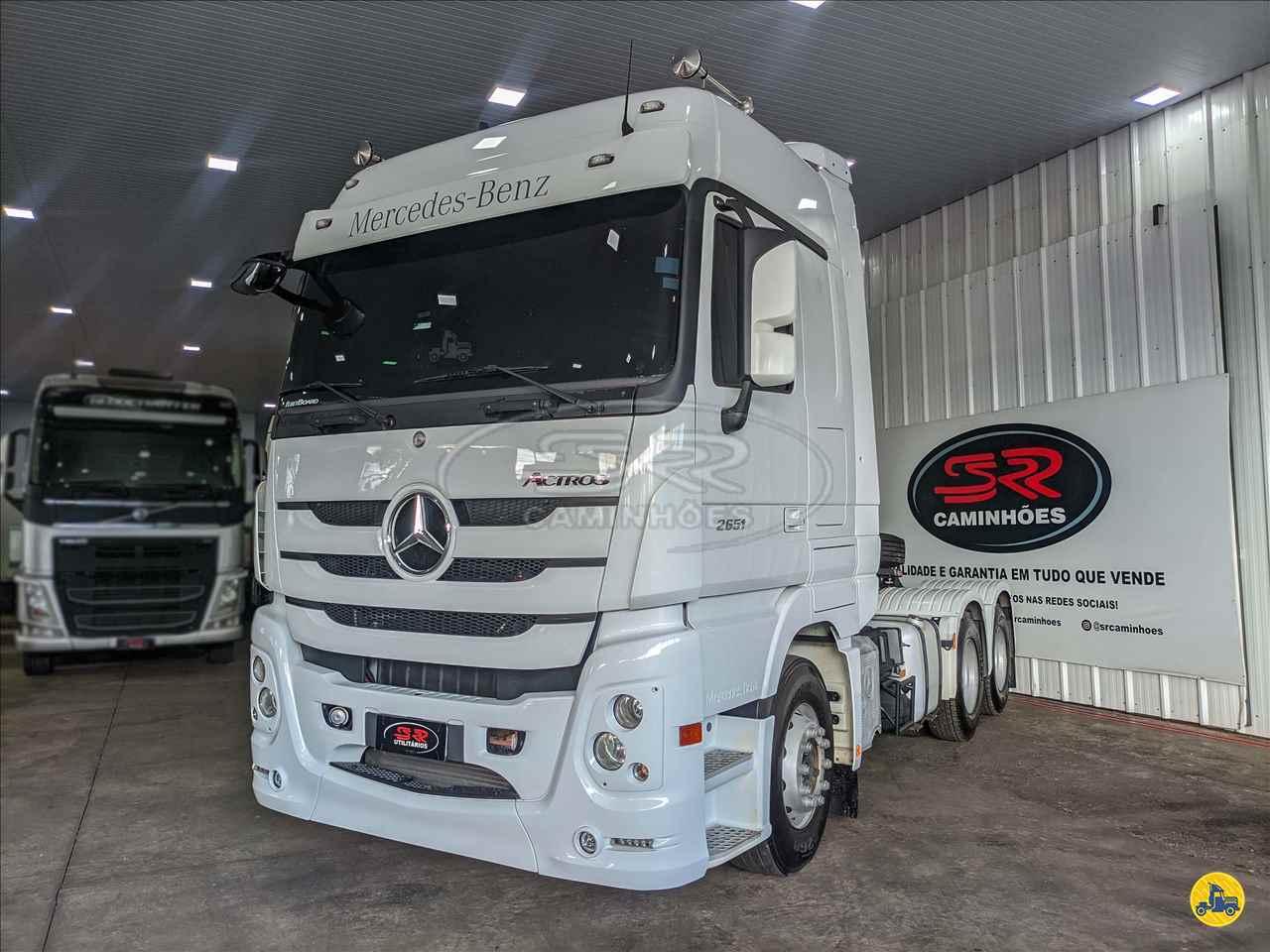 CAMINHAO MERCEDES-BENZ MB 2651 Cavalo Mecânico Traçado 6x4 S R Caminhões LUCAS DO RIO VERDE MATO GROSSO MT