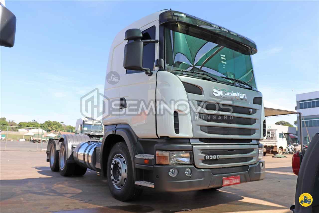 CAMINHAO SCANIA SCANIA 380 Cavalo Mecânico Truck 6x2 Seminovos Hungaro MARINGA PARANÁ PR