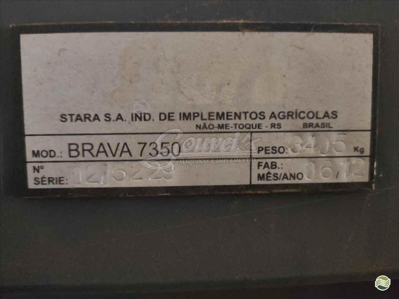 STARA BRAVA 7830  2012/2012 Gouveia Máquinas e Implementos Agrícolas - Jacto