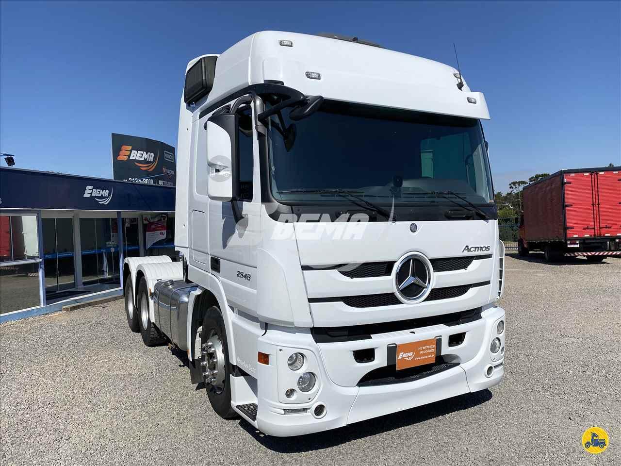 CAMINHAO MERCEDES-BENZ MB 2546 Cavalo Mecânico Truck 6x2 EBEMA Caminhões SAO JOSE DOS PINHAIS PARANÁ PR