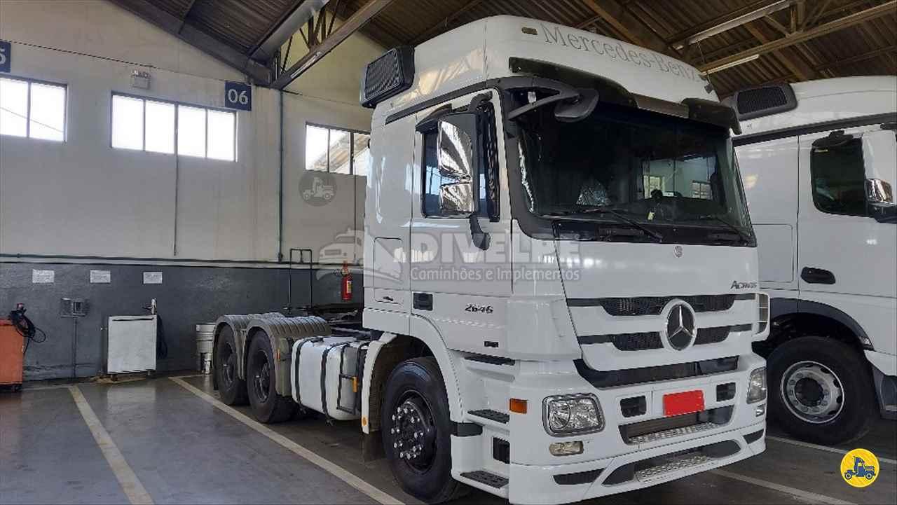 CAMINHAO MERCEDES-BENZ MB 2646 Cavalo Mecânico Traçado 6x4 DIVELPE Caminhões e Implementos CURITIBA PARANÁ PR