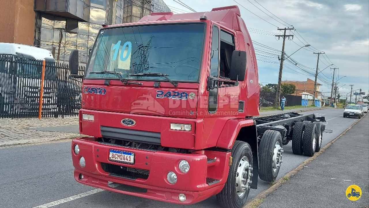 CAMINHAO FORD CARGO 2428 Chassis BiTruck 8x2 DIVELPE Caminhões e Implementos CURITIBA PARANÁ PR