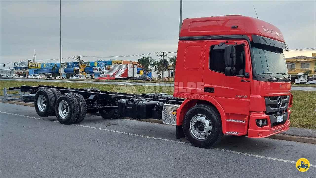 CAMINHAO MERCEDES-BENZ MB 2429 Chassis Truck 6x2 DIVELPE Caminhões e Implementos CURITIBA PARANÁ PR