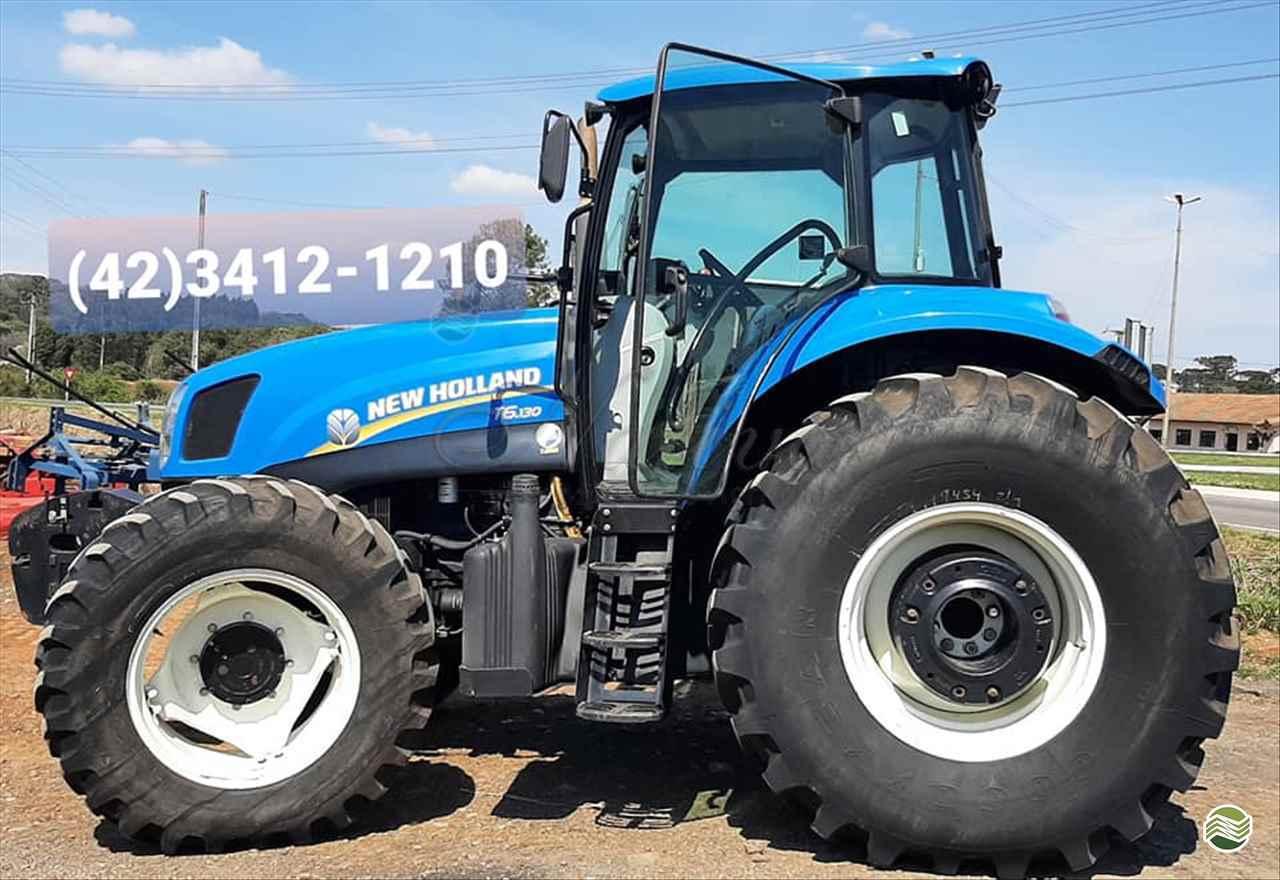 TRATOR NEW HOLLAND NEW T6 130 Tração 4x4 Nativa Máquinas Agrícolas IMBITUVA PARANÁ PR