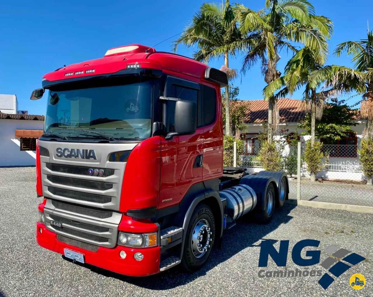 CAMINHAO SCANIA SCANIA 440 Cavalo Mecânico Truck 6x2 NG Caminhões TIJUCAS SANTA CATARINA SC