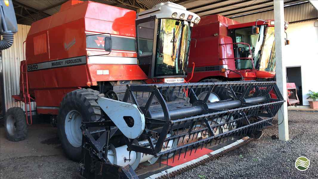 COLHEITADEIRA MASSEY FERGUSON MF 5650 Agro Texas Máquinas Agrícolas VITORINO PARANÁ PR