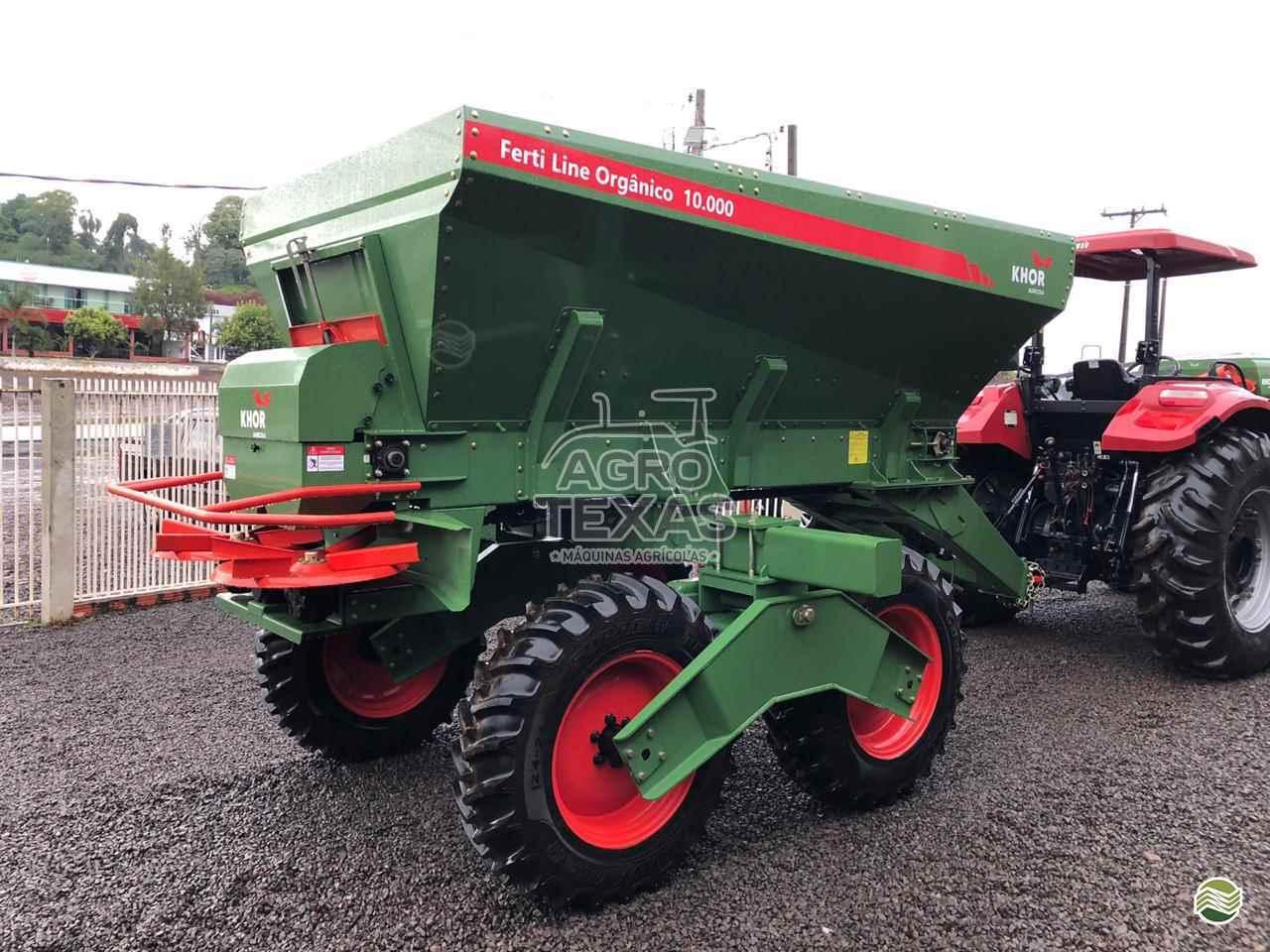 DISTRIBUIDOR DISTRIBUIDOR 10000  2020 Agro Texas Máquinas Agrícolas
