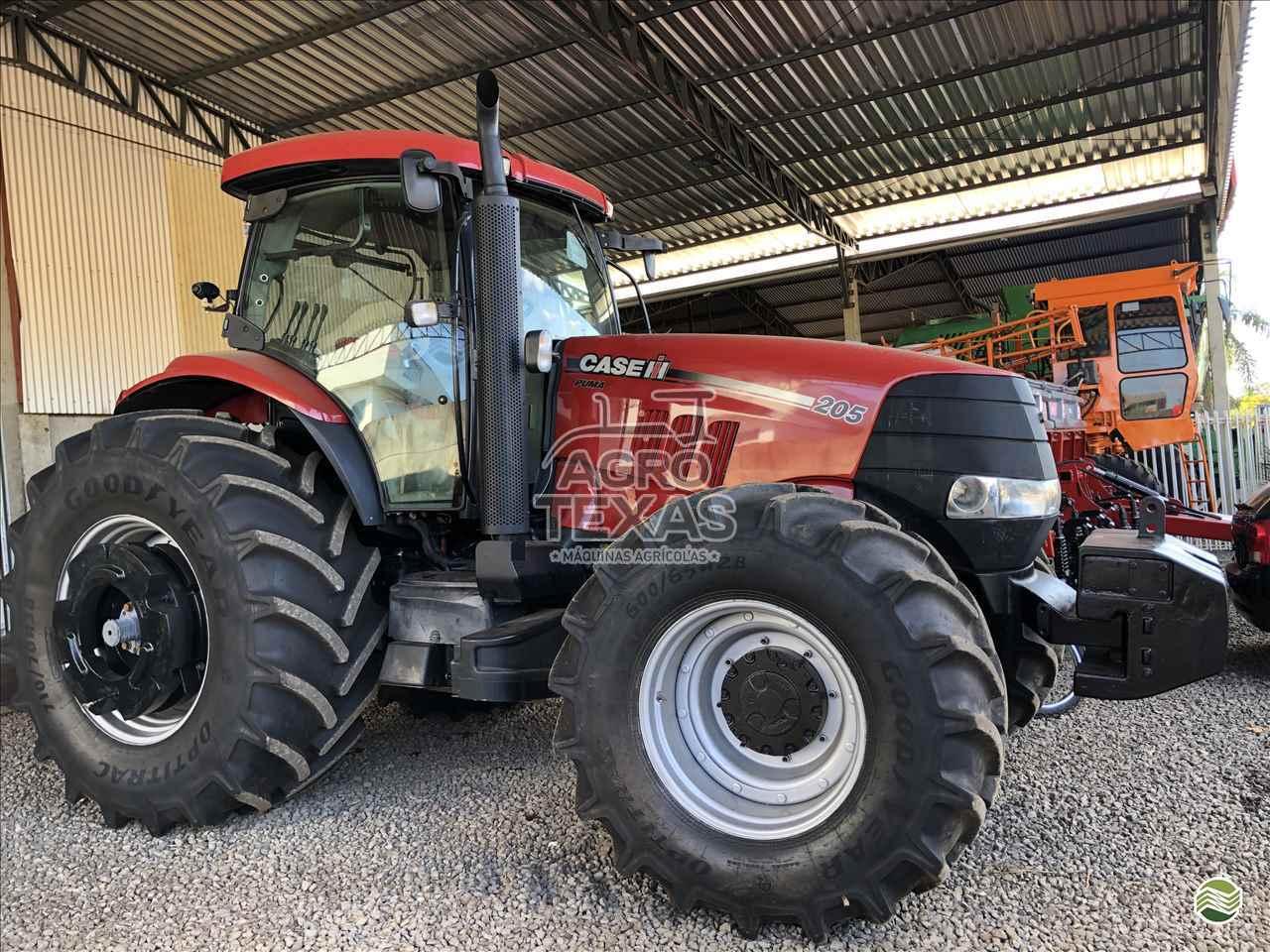 TRATOR CASE PUMA 205 Tração 4x4 Agro Texas Máquinas Agrícolas VITORINO PARANÁ PR