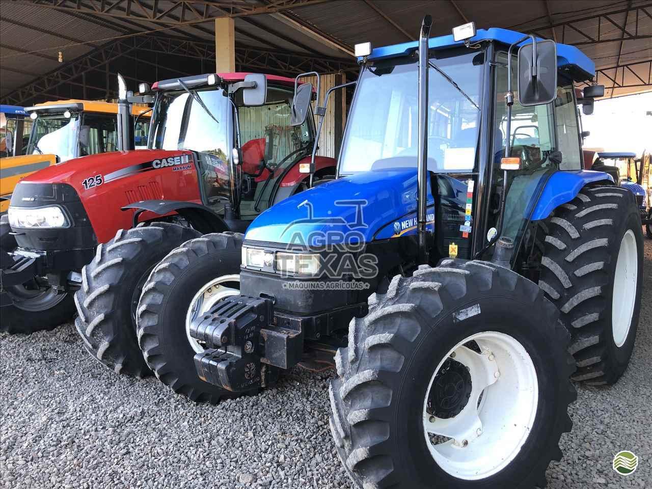 TRATOR NEW HOLLAND NEW TL 95 Tração 4x4 Agro Texas Máquinas Agrícolas VITORINO PARANÁ PR