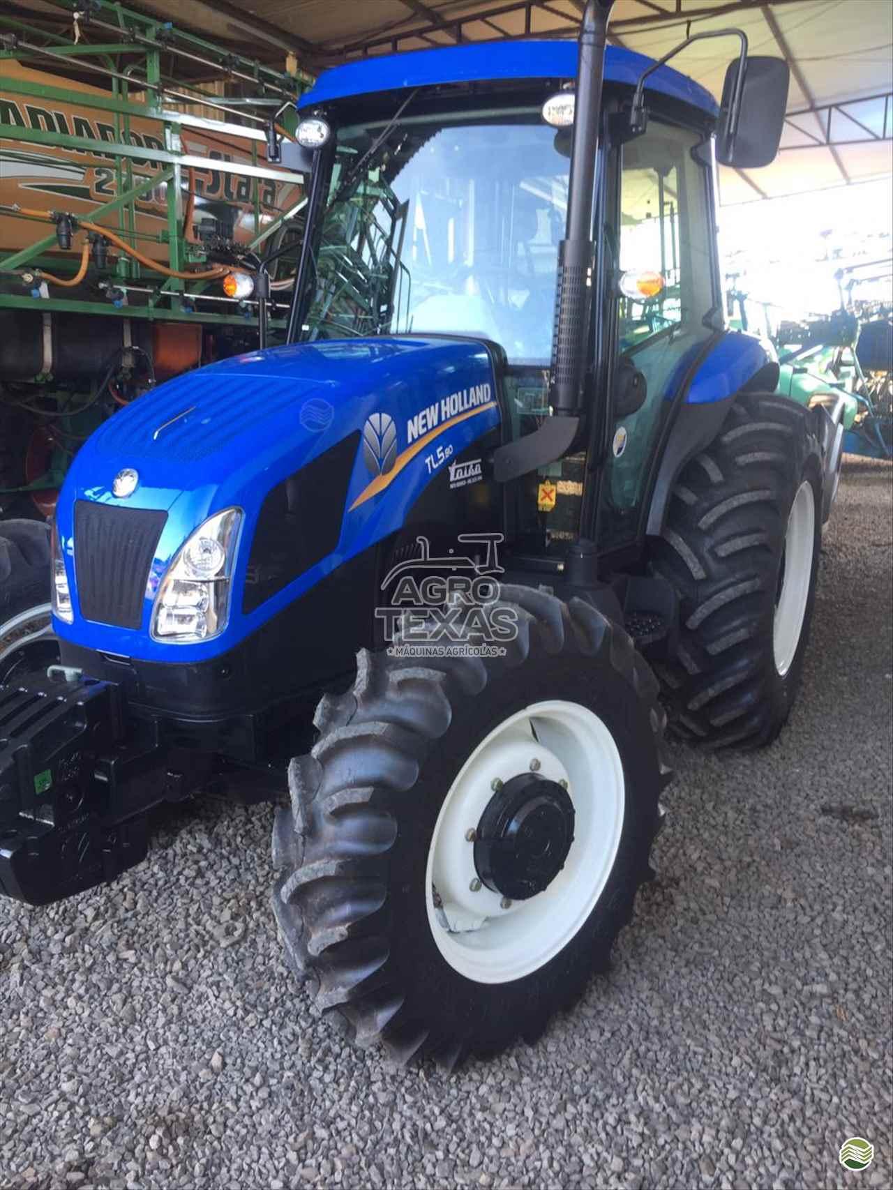 TRATOR NEW HOLLAND NEW TL5.80 Tração 4x4 Agro Texas Máquinas Agrícolas VITORINO PARANÁ PR