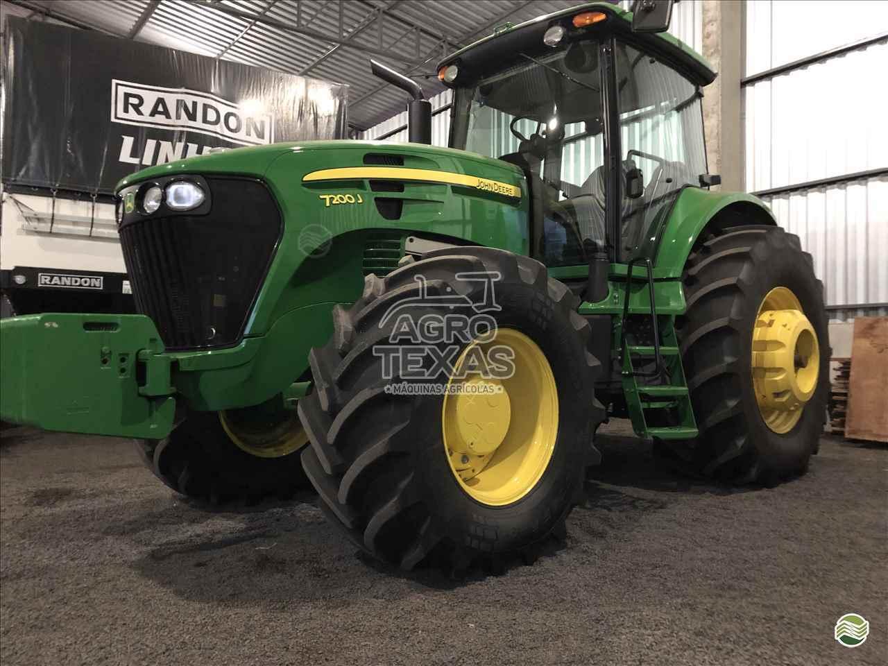 TRATOR JOHN DEERE JOHN DEERE 7200 Tração 4x4 Agro Texas Máquinas Agrícolas VITORINO PARANÁ PR