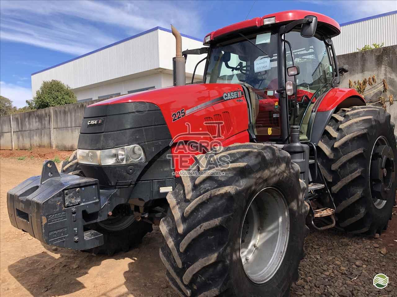 TRATOR CASE PUMA 225 Tração 4x4 Agro Texas Máquinas Agrícolas VITORINO PARANÁ PR