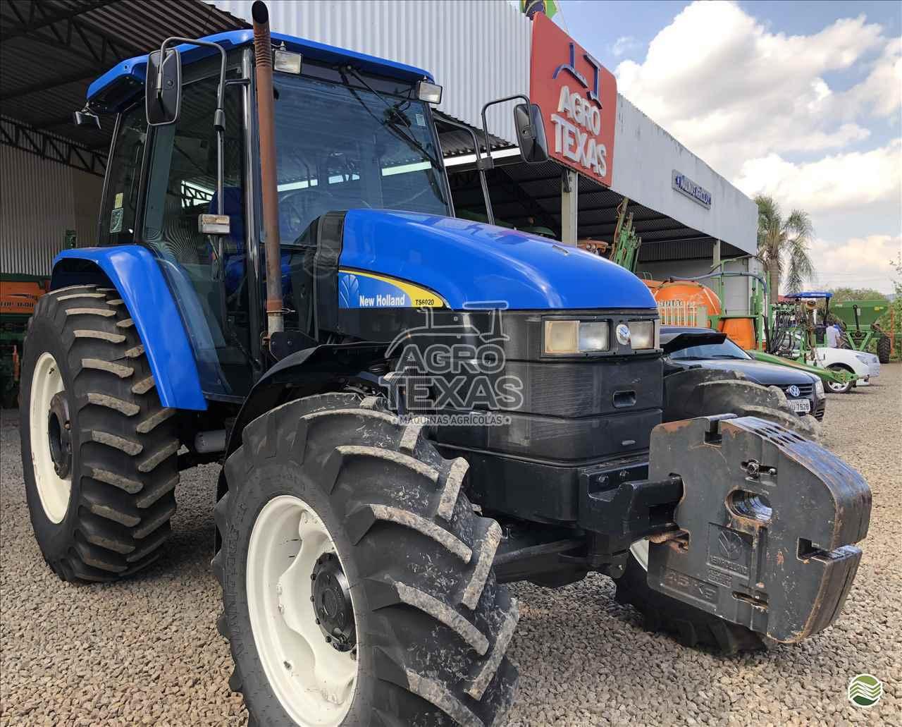 TRATOR NEW HOLLAND NEW TS 6020 Tração 4x4 Agro Texas Máquinas Agrícolas VITORINO PARANÁ PR