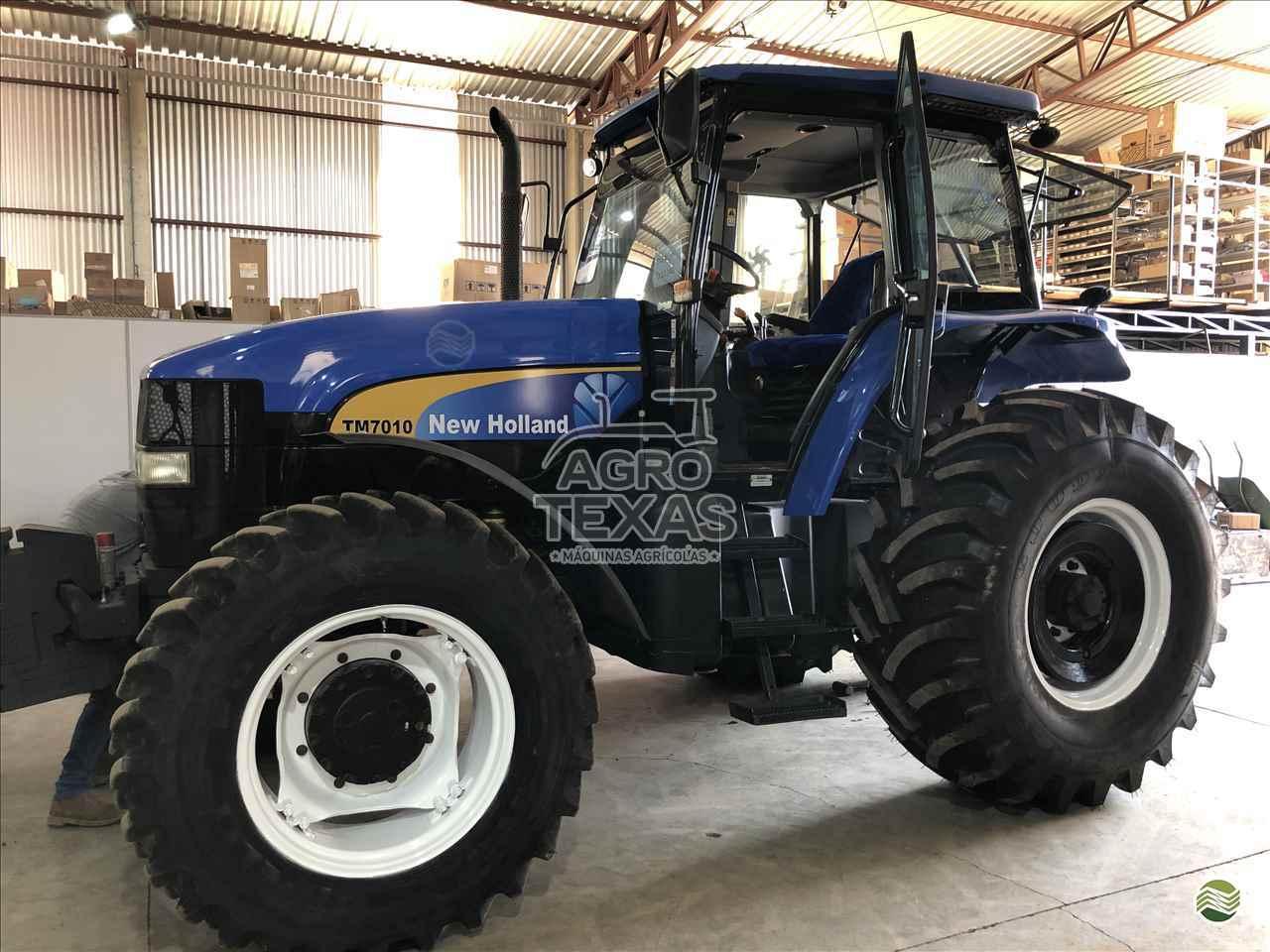 TRATOR NEW HOLLAND NEW TM 7010 Tração 4x4 Agro Texas Máquinas Agrícolas VITORINO PARANÁ PR