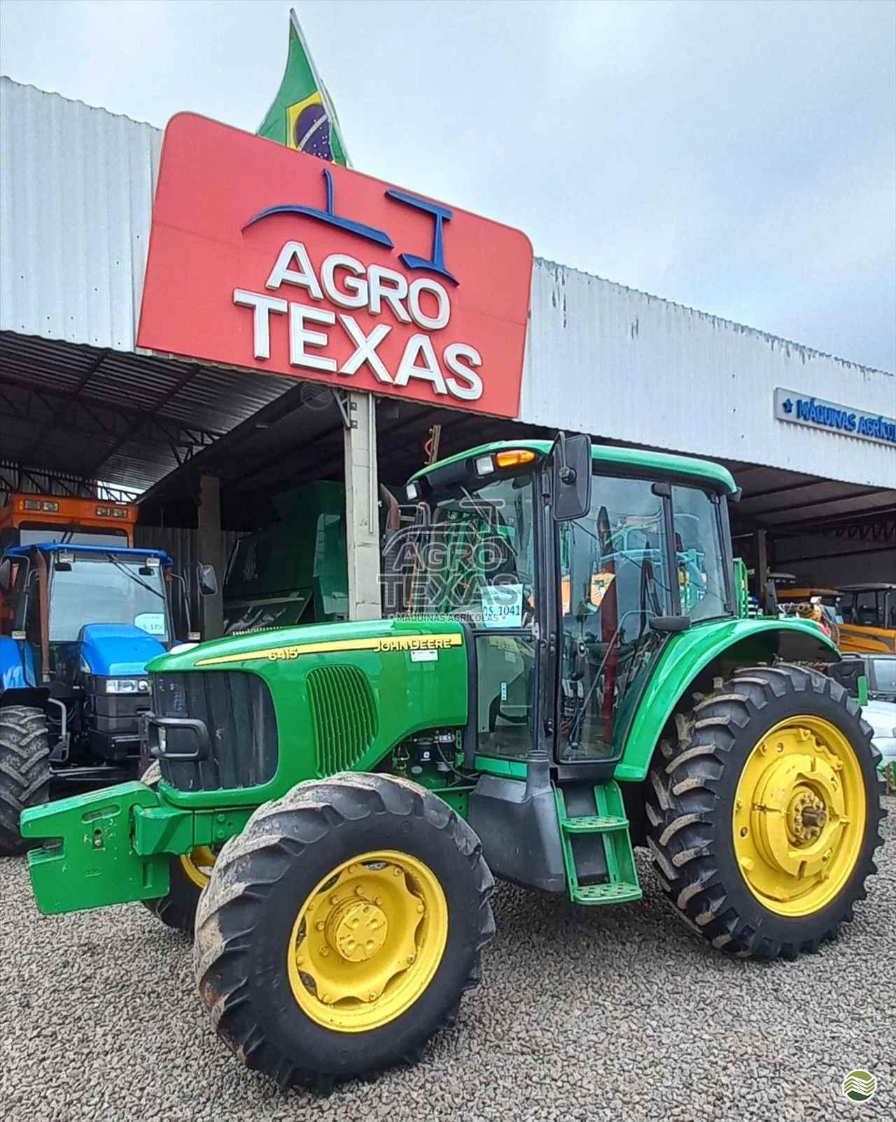 TRATOR JOHN DEERE JOHN DEERE 6415 Tração 4x4 Agro Texas Máquinas Agrícolas VITORINO PARANÁ PR