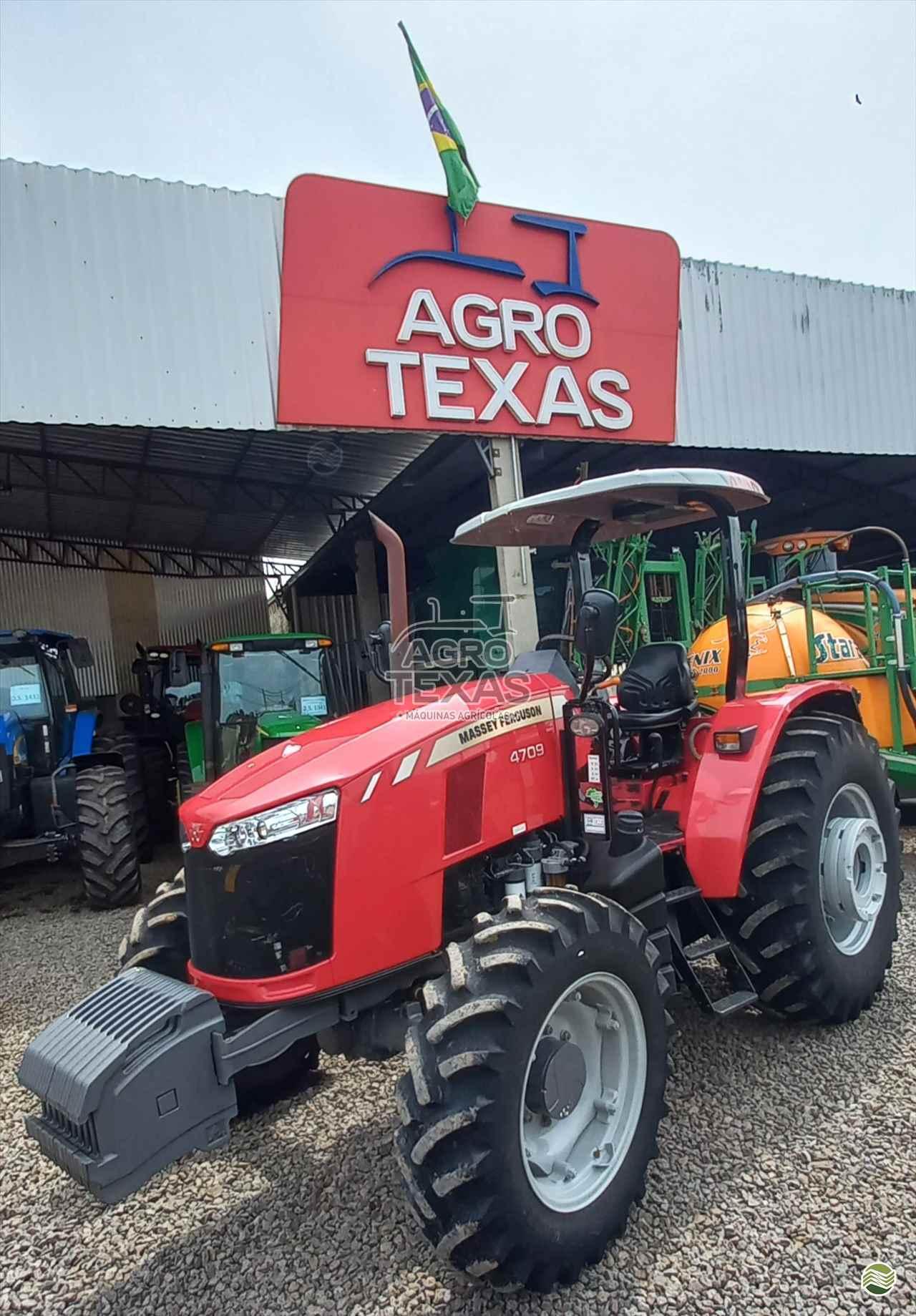 TRATOR MASSEY FERGUSON MF 4709 Tração 4x4 Agro Texas Máquinas Agrícolas VITORINO PARANÁ PR