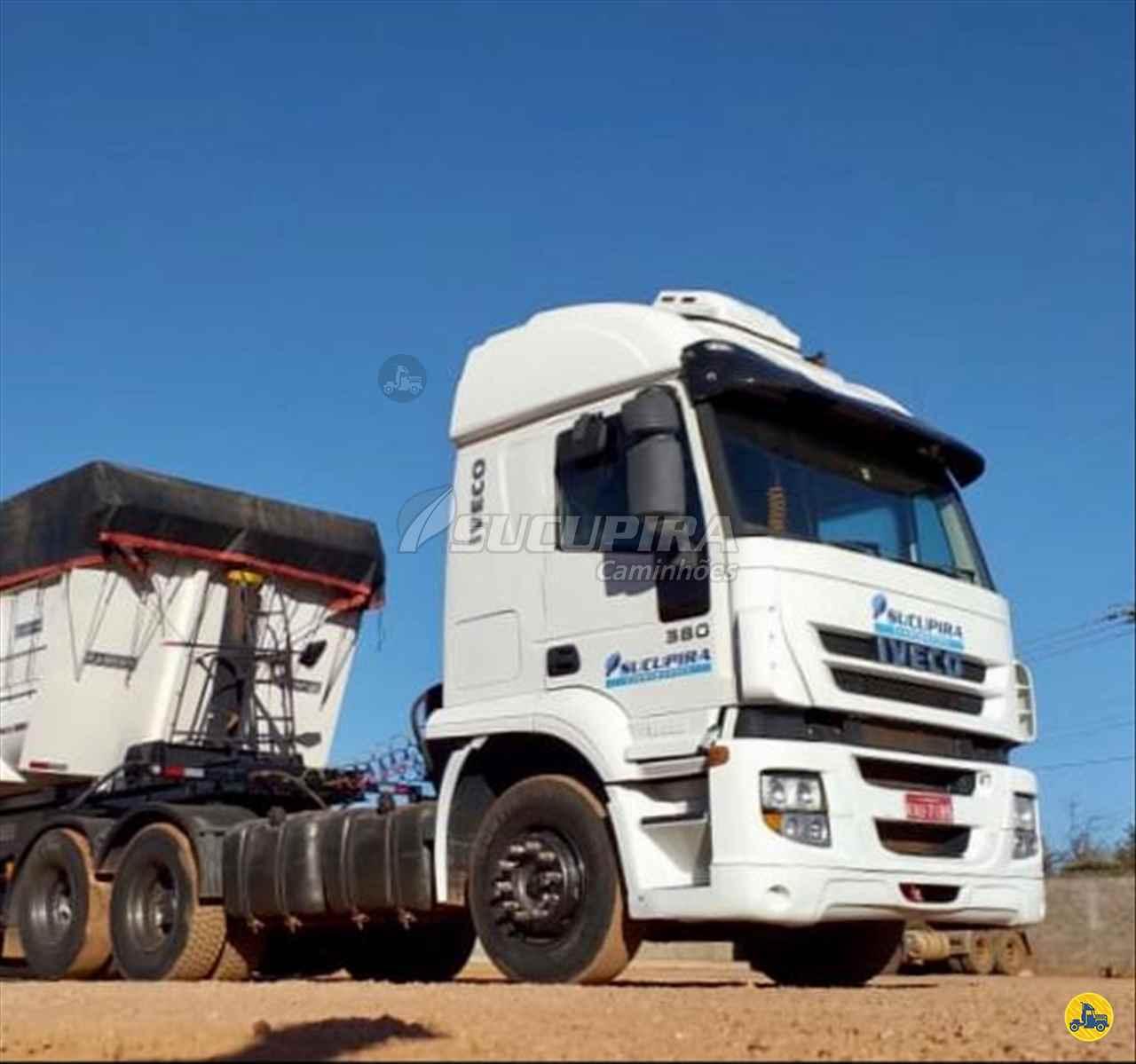 CAMINHAO IVECO STRALIS 380 Cavalo Mecânico Truck 6x2 Sucupira Caminhões RONDONOPOLIS MATO GROSSO MT