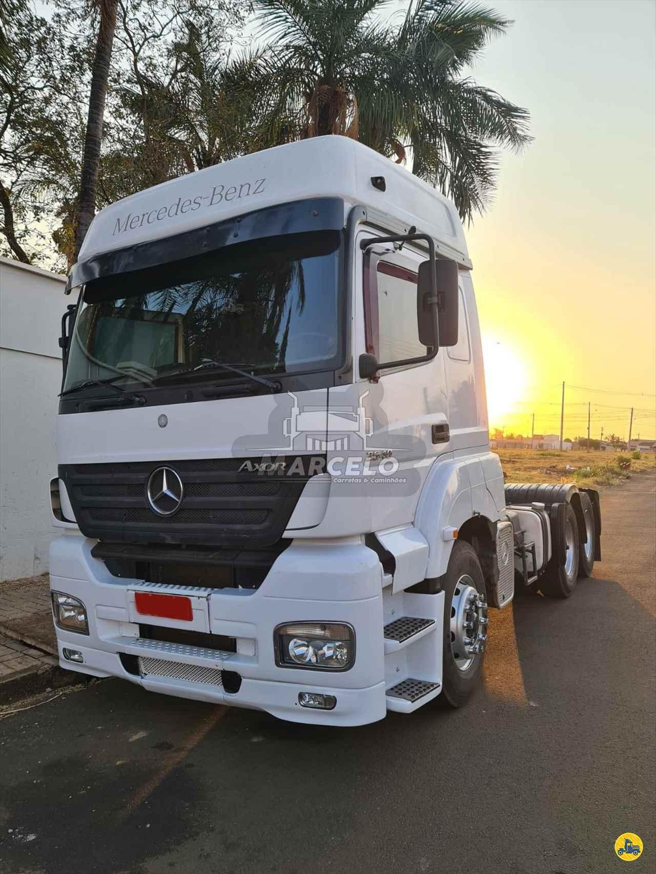CAMINHAO MERCEDES-BENZ MB 2540 Cavalo Mecânico Truck 6x2 Marcelo Carretas e Caminhões PIRAPOZINHO SÃO PAULO SP