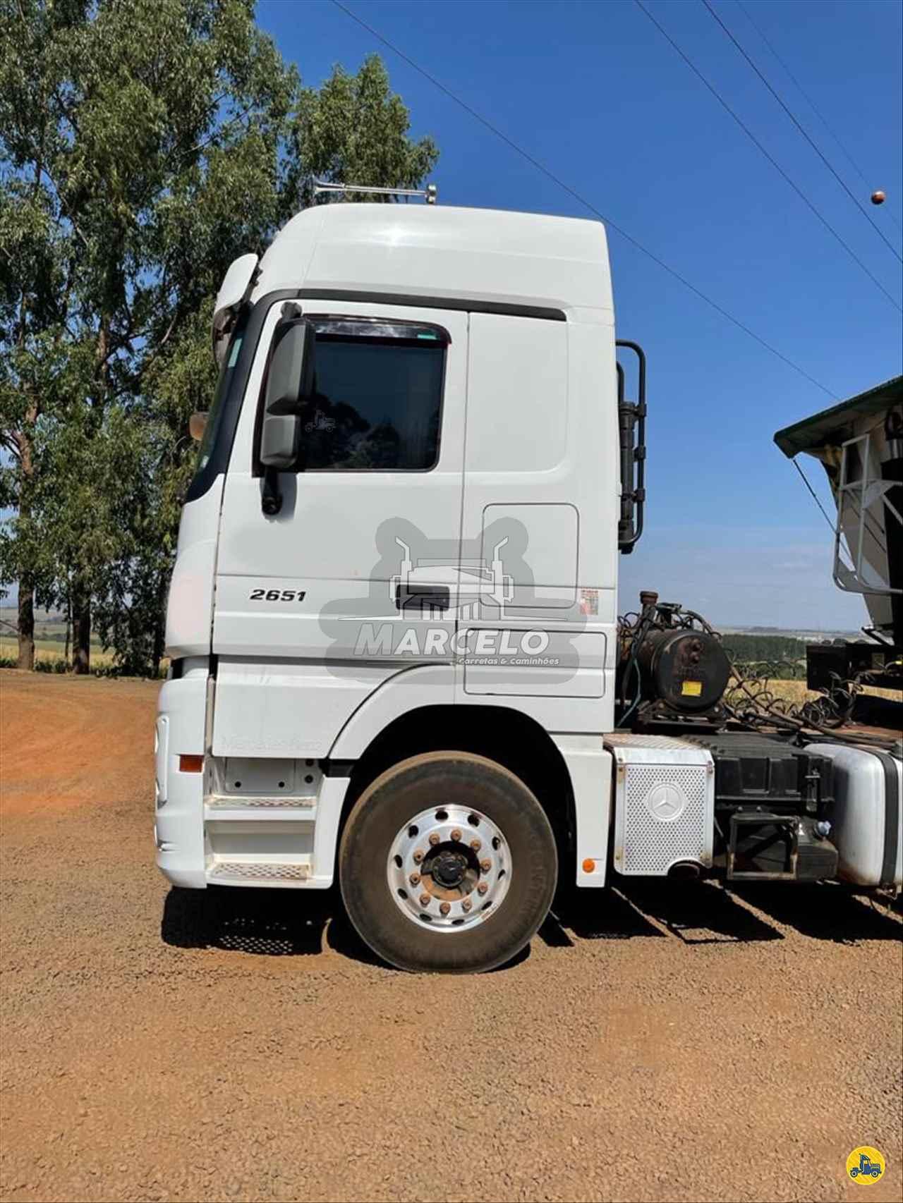CAMINHAO MERCEDES-BENZ MB 2651 Cavalo Mecânico Traçado 6x4 Marcelo Carretas e Caminhões PIRAPOZINHO SÃO PAULO SP