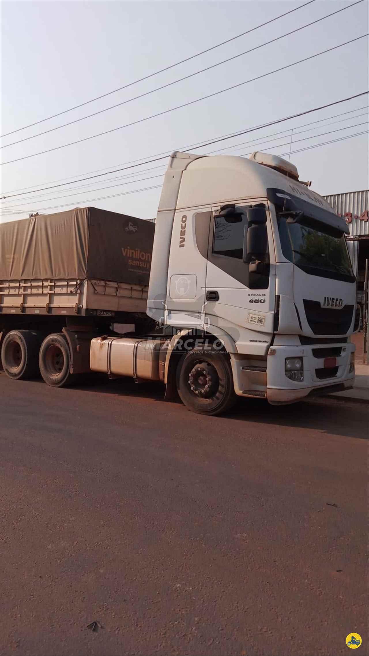 CAMINHAO IVECO TRAKER 480 Cavalo Mecânico Traçado 6x4 Marcelo Carretas e Caminhões PIRAPOZINHO SÃO PAULO SP