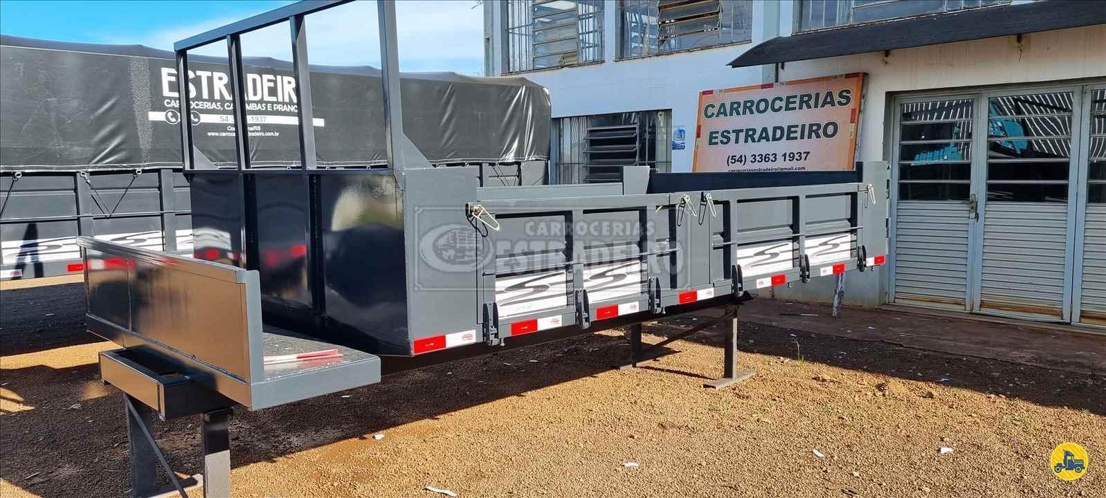 CARROCERIA SOBRE CHASSI  CAMINHAO 3/4 BASCULANTE Carrocerias Estradeiro CONSTANTINA RIO GRANDE DO SUL RS