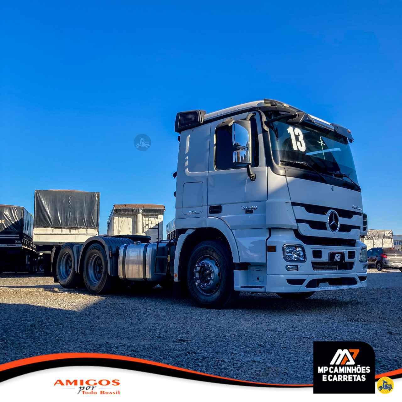 CAMINHAO MERCEDES-BENZ MB 2546 Cavalo Mecânico Truck 6x2 MP Caminhões e Carretas PATOS DE MINAS MINAS GERAIS MG
