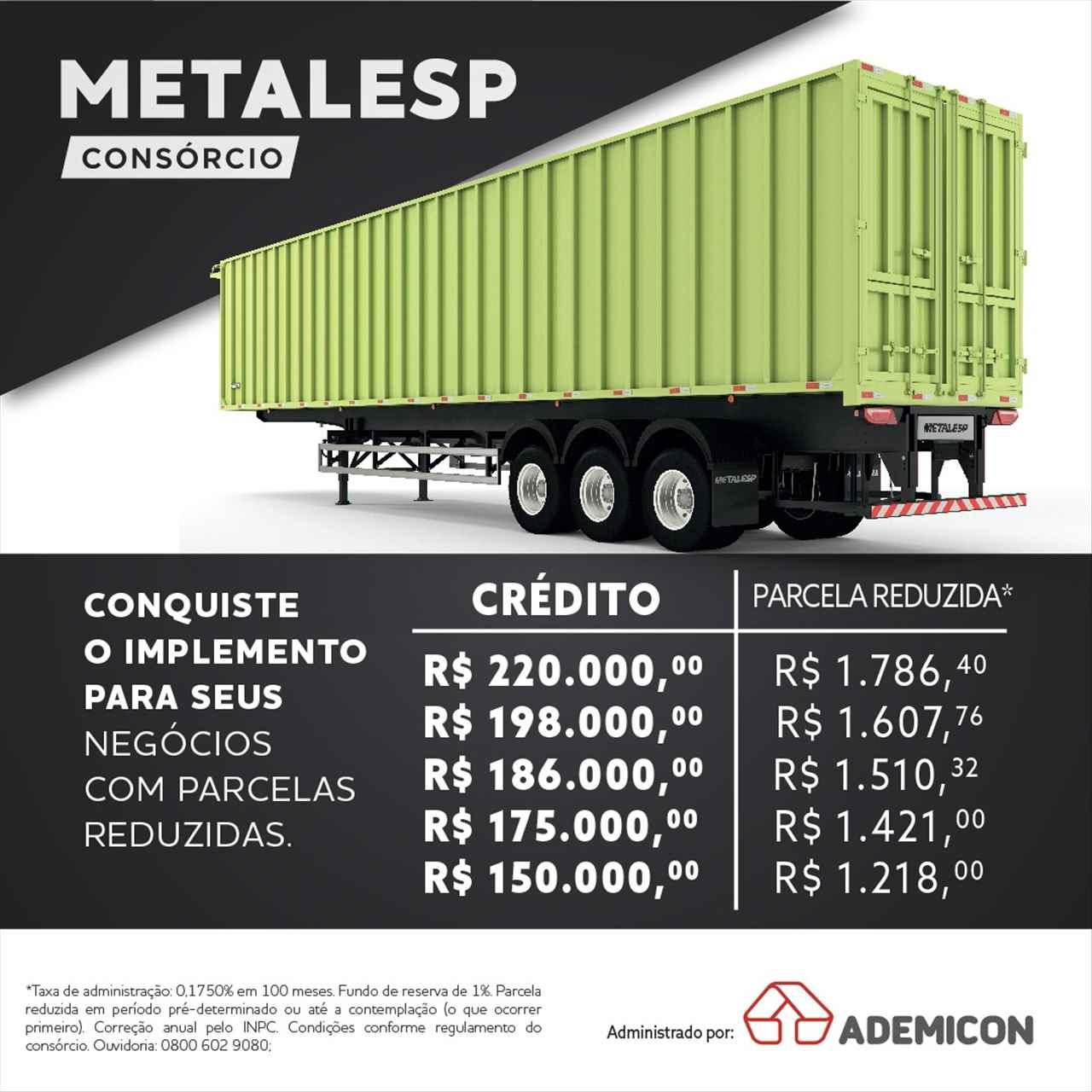 Serviços Zanon Caminhões e Implementos Consórcio Metalesp PASSO FUNDO RIO GRANDE DO SUL