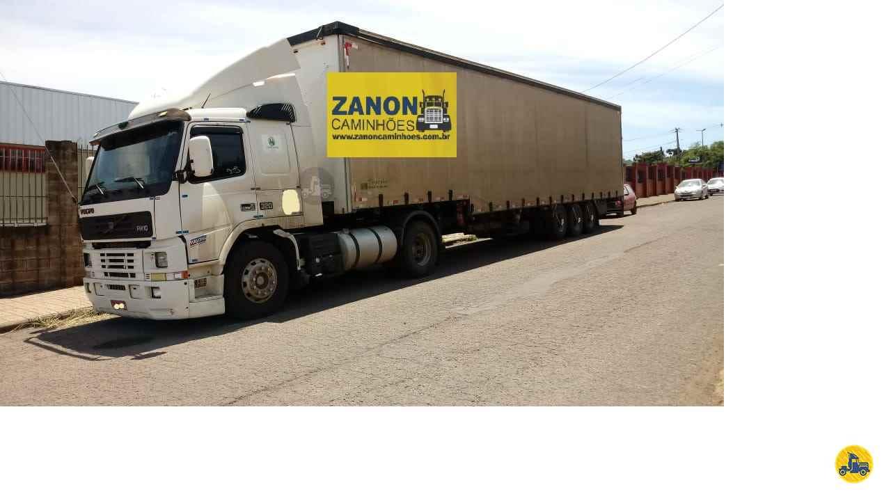 VOLVO VOLVO FM10 320  2000/2001 Zanon Caminhões