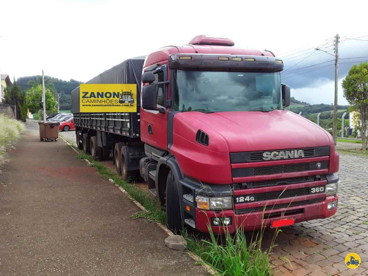 CAMINHAO SCANIA SCANIA 124 360 Cavalo Mecânico Truck 6x2 Zanon Caminhões e Implementos PASSO FUNDO RIO GRANDE DO SUL RS